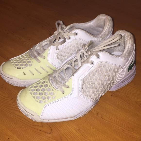 White Lacoste Tennis Sneakers | Poshmark
